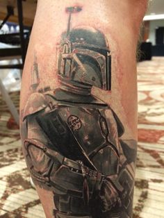 I got a Ben Hamill tattoo and it won best Star Wars and best black and white.... Well done bruv!