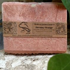 Nothing is gentler on your skin than Dreamy Orange Soap!  Enjoy your bath time!