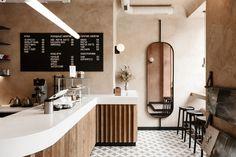 Daily Café, Odessa / Sivak+Partners, Photo by Antony Garets Restaurant Bistro, Restaurant Design, Modern Restaurant, Art House Movies, Coffee Places, Café Bar, Cafe Interior Design, Coffee Shop Design, Lokal