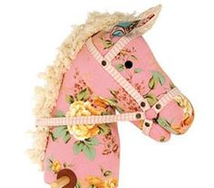floral hobby horse
