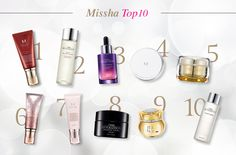 Made with natural and pharmaceutical ingredients of the highest grade and utilizing the most current technology MISSHA brings you closer to a youthful, more beautiful you.