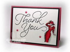 Stylish Thank You Card |Beautiful You, So Very Much
