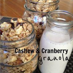 Cashew & Cranberry Granola