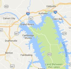 Lake cumberland ky map print lakes vacation and boating free camping in kentucky maps photos and user reviews of free camping areas in publicscrutiny Images