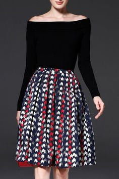GET $50 NOW | Join RoseGal: Get YOUR $50 NOW!https://www.rosegal.com/skirts/a-line-jacquard-pleated-skirt-1241467.html?seid=6340016rg1241467