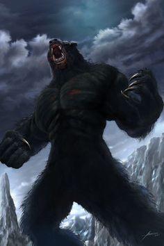 Mandiba - Bearman A fera da floresta