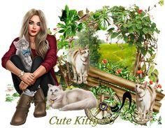 Design Wilds Cat: Милая кошечка #6 Cute Kitty #6