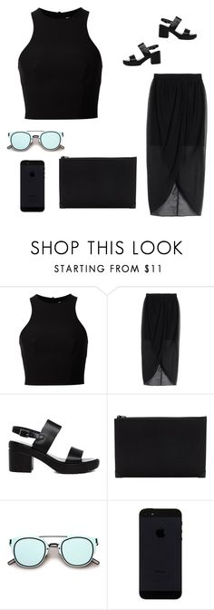 """""""2303"""" by tiffanyelinor ❤ liked on Polyvore featuring T By Alexander Wang, Alice + Olivia, ASOS and Alexander Wang"""