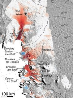 The Antarctica is slowly melting and if it does it could flood few Continents.
