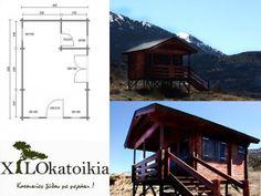 ΚΑΤΟΙΚΙΕΣ « ξύλινα σπίτια Wooden House, Small Spaces, Cabin, House Styles, Home Decor, Decoration Home, Room Decor, Cabins, Cottage