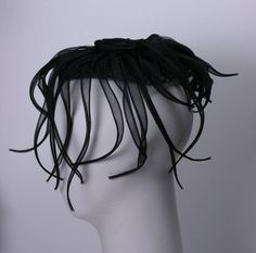 Hattie Carnegie Organza Octopus   From a collection of rare vintage hats at https://www.1stdibs.com/fashion/accessories/hats/