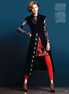Madison Leyes by Norman Wong for Flare October 2012
