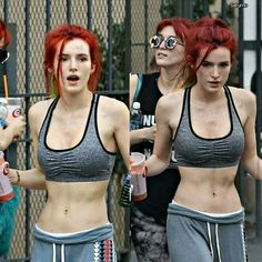 Belle Thorne, Bella Thorne And Zendaya, Celebrity Beauty, Cara Delevingne, Beautiful Actresses, Redheads, Hot Girls, Female, Celebrities