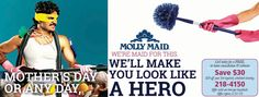 Save on your next regularly scheduled cleaning with molly maids housekeeping in Rochester, NY! Relax and do the things you enjoy - let us worry about the mess.  www.mollymaid.com/local-house-cleaning/ny/eastern-monroe-county/maid-team.aspx