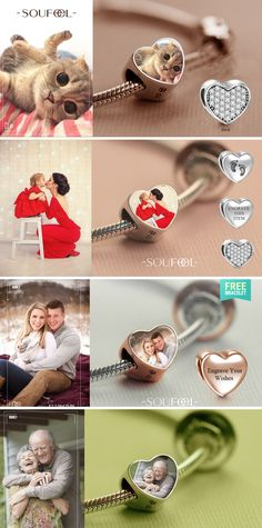 Soufeel Personalized Charm Bracelet. Capture all memorable moments in your life. You can turn any pics you want into the charm then make it an unique bracelet which can stay with you forever.