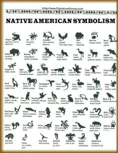 Native American Symbolism #Native #Witch #Magic #Totem #Symbols #American #Animals
