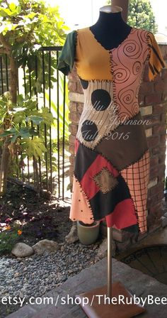 Halloween Town - Kingdom Hearts color inspiration. Nightmare Before Christmas Sally custom dress by TheRubyBee on Etsy