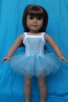 "Doll Clothes fits 18"" American Girl Doll Ballet Tutu Nutcracker"