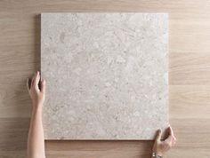 terazzo floor Stirling Terrazzo Look Grey Matt Tile Stone Bathroom, Beige Bathroom, Bathroom Floor Tiles, Tile Floor, Terrazzo Flooring, Kitchen Flooring, Small Bathtub, Coloured Grout, Bathroom Interior Design