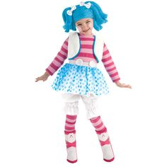 $21.97 - Lalaloopsy Mittens Fluff and Stuff Deluxe Toddler Halloween Costume - Walmart