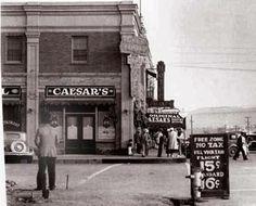 The original Caesar's Restaurant in Tijuana, circa 1927.