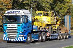 Eddie Stobart Trucks, Big Trucks, Ford Trucks, Heavy Duty Trucks, Transporter, Transportation, Perth, Vehicles, Classic