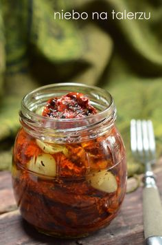 The best home-made dried tomatoes Polish Recipes, Polish Food, Dried Tomatoes, Canning Recipes, Summer Recipes, Pickles, Cooking Tips, Cucumber, Veggies