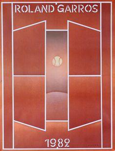 """""""Roland Garros 1982""""  Folon - 1982"""