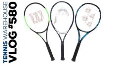 Getting more POWER from longer racquets -- VLOG Adding power to your game is simple with extended length racquets! With racquets from HEAD, Wilson, Babo. Tennis Camp, Tennis Rules, Tennis Party, Tennis Tips, Steffi Graf, How To Play Tennis, Tennis Online, Tennis Equipment, Tennis Accessories
