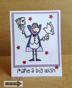 TAWS, The Alley Way Stamps, Tada, cards, clear stamps, Sabine