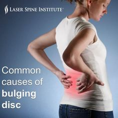 Bulging disc is most common in people who are in their thirties and forties. Learn the common causes