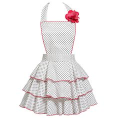 Petite Dot Party White Aporn