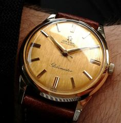 Vintage OMEGA Globemaster Automatic In Stunning Condition - https://omegaforums.net