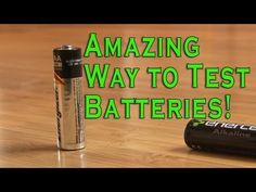 The Best Way To Test Batteries, Nothing Required  #LifeHack