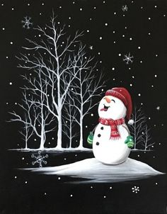 Join us for a Paint Nite event Sun Jan 2019 at 1516 Bedford Hwy Bedford, NS. Purchase your tickets online to reserve a fun night out! Christmas Rock, Christmas Signs, Christmas Pictures, Christmas Decorations, Christmas Paintings On Canvas, Christmas Canvas, Christmas Projects, Winter Painting, Winter Art