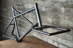 One less car! by wheeldan, Titanium Frames, Handmade in Berlin! Titanium Bike, Velo Cargo, Wood Bike, Garage Bike, Vintage Bikes, Retro Bikes, Cafe Bike, Urban Bike, Bike Frame