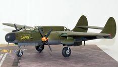 Hersteller: HobbyBoss| Sparte: Historische Flugzeuge | Katalog Nummer: 87261 - US P-61A Black Widow Maßstab: 1:72 | Einzelteile: 91 | Länge: 210mm | Spannweite: 279mm Black Widow, Scale Models, Airplane, Fighter Jets, Aircraft, Creative, Autos, World War Two, Catalog