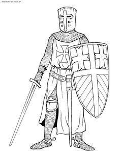 crusades coloring pages google keress
