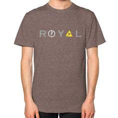 Royal Unisex T-Shirt (on man)