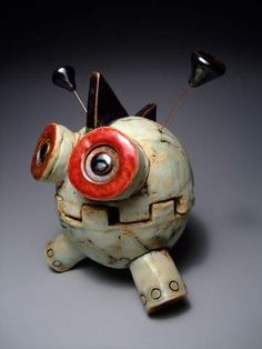 Ceramics 1-Monsters on Pinterest | Clay Monsters, Monsters and ...