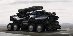 Concept Military Vehicles   Concept vehicle art by Jan Urschel
