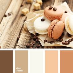 A gentle range in soft, pastel colors. It's very nice, cozy, like at home. Shades of coffee and milk are harmoniously combined with shades of pale peach to
