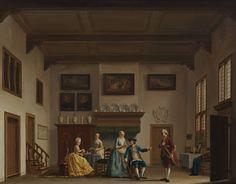 De belachelijke jonker, Nicolaes Muys, 1777 | Museum Boijmans Van Beuningen