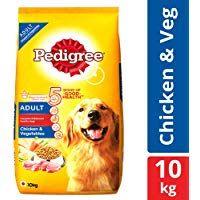 Pedigree Adult Dry Dog Food Food Chicken And Vegetables 10kg Pack
