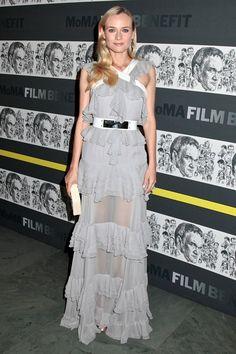 Diane Kruger at the MoMA Film Benefit for Tarantino - celebrity fashion