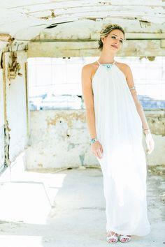 Beautiful Ilana in WEDDING DRESS by DESIGNER MICHAEL POLKANOV