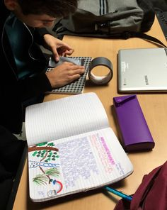 Using interactive notebooks with high school students