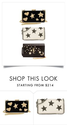 """Accessories 23"" by studioyyang ❤ liked on Polyvore featuring Lanvin, STELLA McCARTNEY, Yves Saint Laurent, stars and bags"