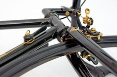 1983 Cinelli Golden Black. Beautiful details.