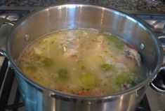 Made this today with the left over turkey carcass!  so good Low-Fat Homemade Turkey Stock - How To Make Turkey Stock
